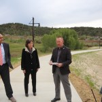 Public officials gather at Bridge to Nowhere for orgy of self praise about Interchange projects