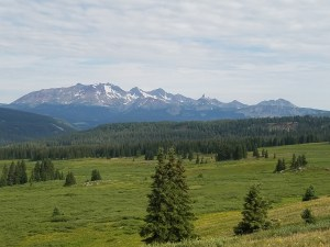 A view from the top of Graysill Trail. Photo courtesy of Four Corners Freeride Coalition.