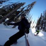 GoPro video, splitboarding Wolf Creek Pass