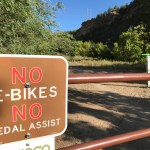 On Horse Gulch Road, is a ban on e-bikes grounded in law?