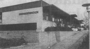 Grønagerskolen er ifølge skoleudvalgets sparekatalog i fare for at blive nedlagt. (Arkivfoto)