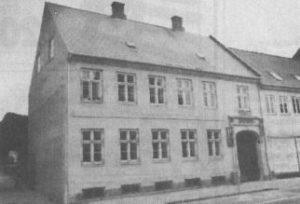 Nørregade 21 fungerer nu som en del af Skt. Ibs Skole. (Foto: Lars Juul)