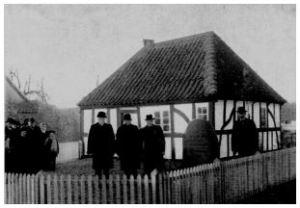 Fra indvielsen af museet i 1920 Ole Schiørring, 1993: Horsens i glimt, Horsens Museum.