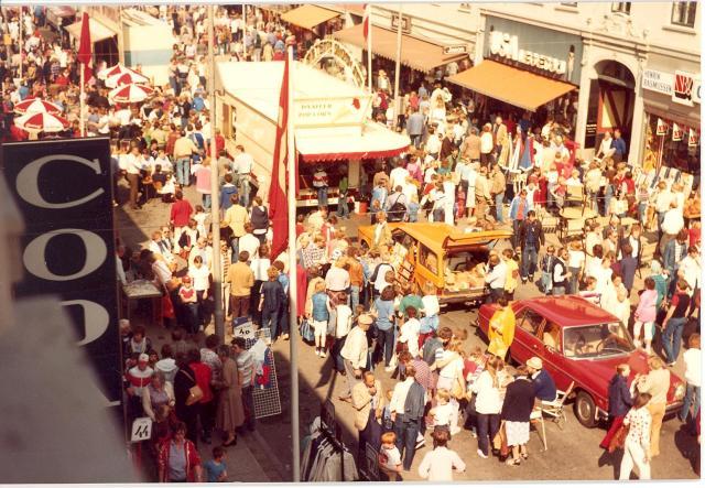 Søndergades nordside 1982, Søndergade 41, USA Legetøj. B8024.