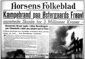 Horsens Folkeblad den 29. august 1952.