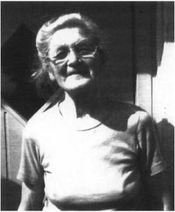 Helga Juel Pedersen, Serridslev. Foto 2002.