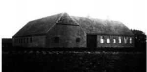 Helga´s barndomshjem på Hovmarksvej, ca.1933.