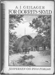 """Forside af romanen """"For Dorrets Skyld"""""""