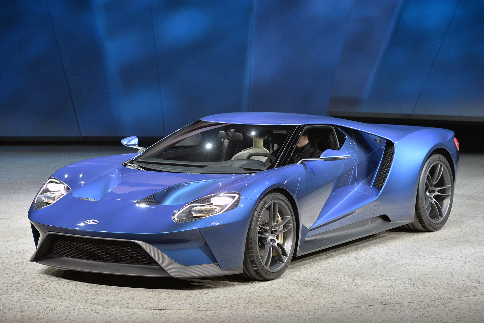 2016 ford gt sport blue wallpaper 2017 ford gt concept car beautiful - 03 Ford Gt Concept Detroit 1
