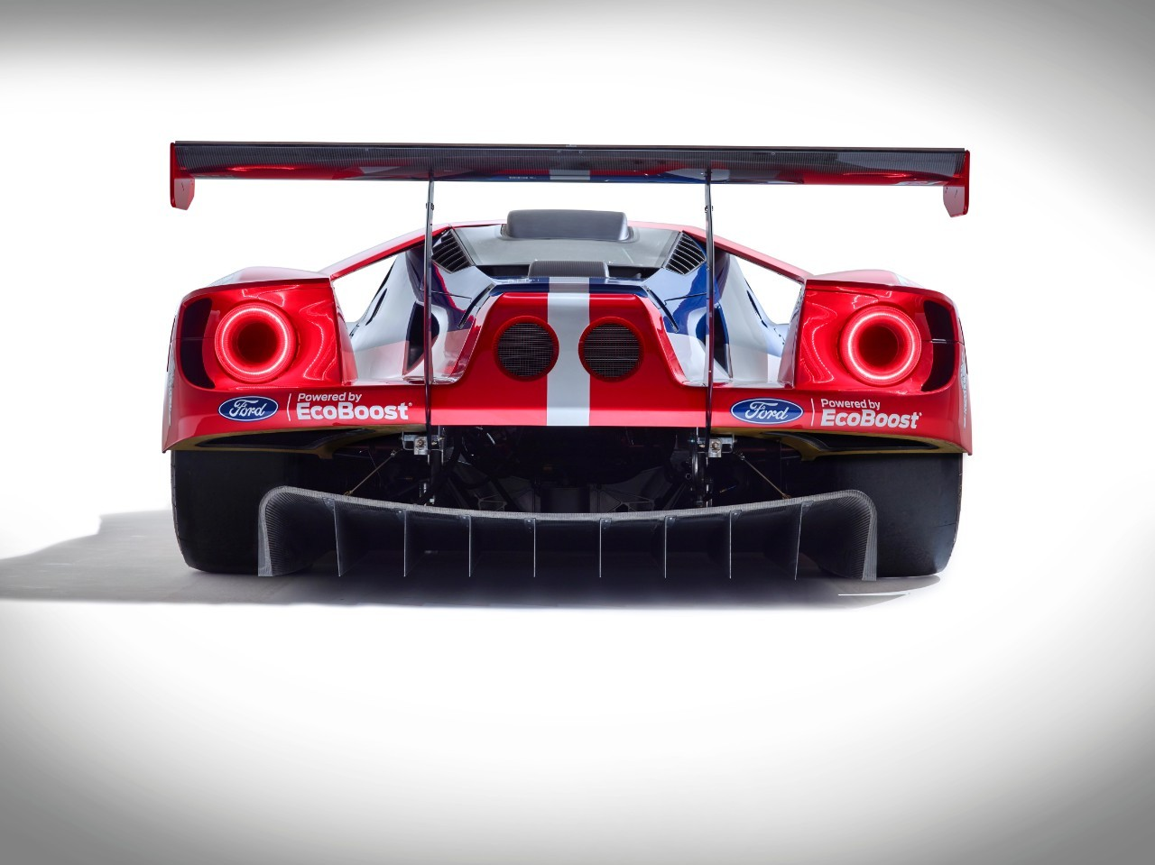 Furniture of america clint twin metal race car bed in red - Ford Gt Le Mans Racecar Confirmed To Debut