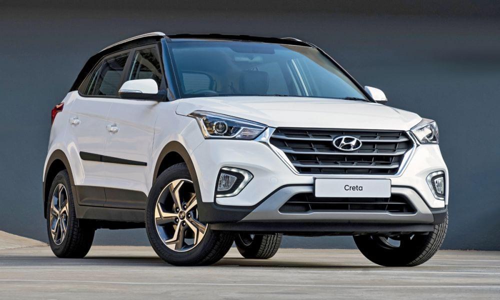 Combination of features including contrasting blue with white accents,. Hyundai Creta, el Hyundai favorito de México | HORSEPOWER