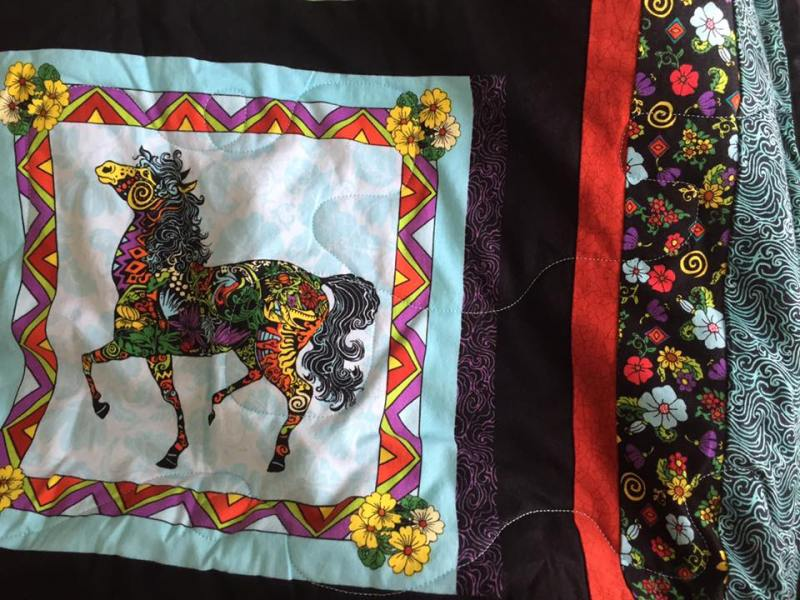for chimeracustomquilts giovanna by appliqu quilted hand d and quilt horse pin reserved