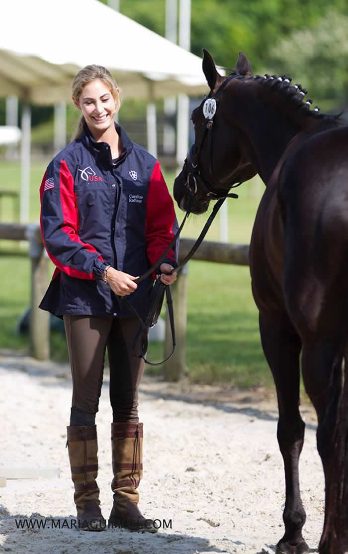 Caroline Roffman Prepares For Aachen In France This Summer