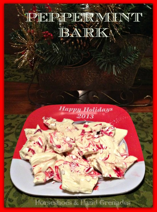 Peppermint Bark Finished