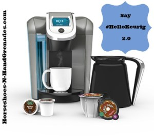 Saying #HelloKeurig To The New 2.0 Brewer