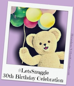 The Snuggle Bear is 30! Birthday Celebration {and Giveaway} #LetsSnuggle