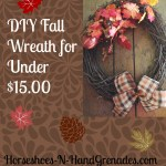 DIY Fall Wreath for Under $15