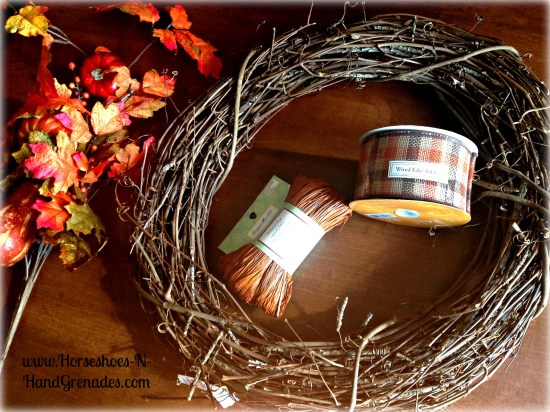 Fall Wreath Supplies