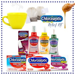 Chloraseptic Sore Throat Relief & Giveaway