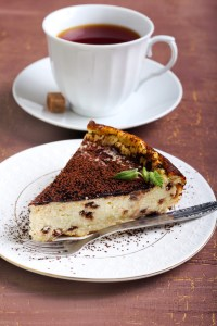 Kahlua Coffee Cheesecake