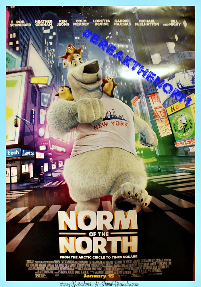 Norm of the North Break the Norm