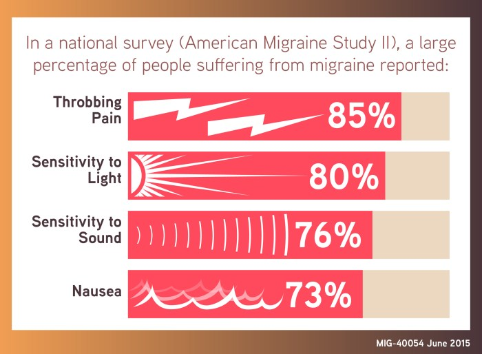 MIG-40054 Migraine Infographic- National Survey