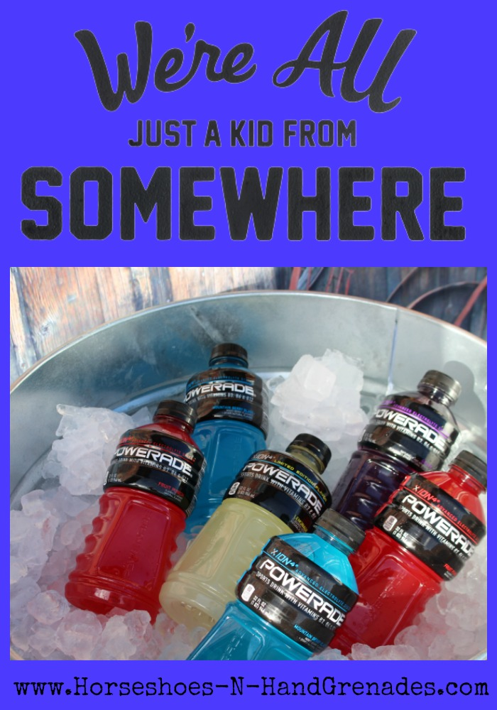 Powerade Kid From Somewhere