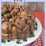 Caramel and Chocolate Chip Stuffed Monkey Bread