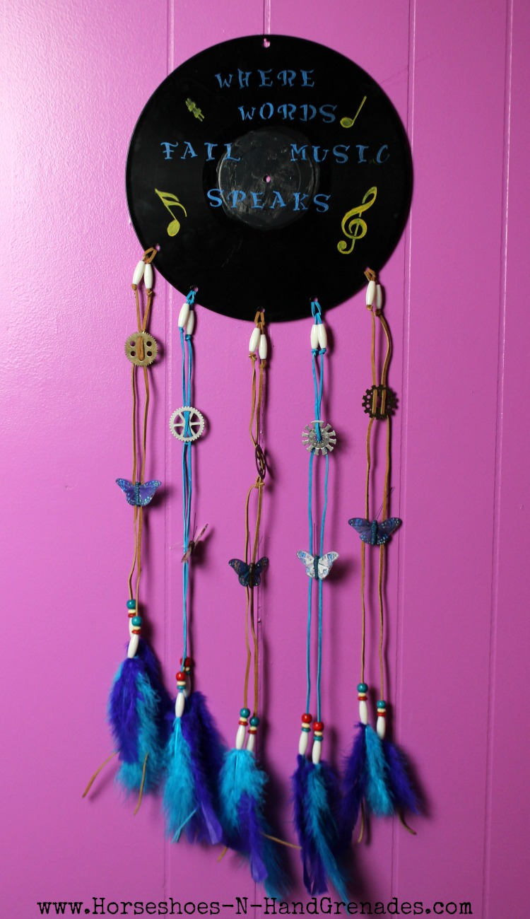Vinyl Dreamcatcher Wall Art