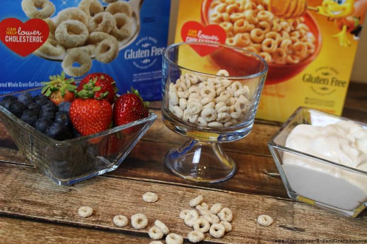 Fruit Yogurt Parfait Ingredients