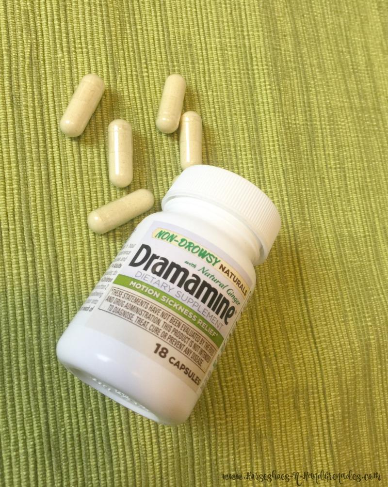 Dramamine Non-Drowsy Naturals pills