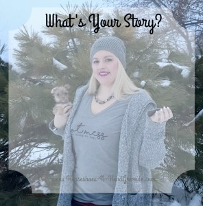 Hot Mess Just Doing My Best  – What's Your Story?