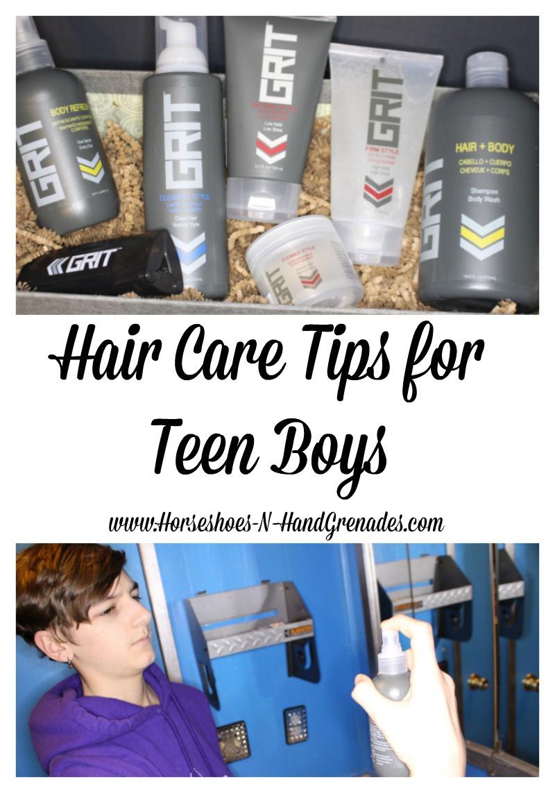 Hair Care Tips for Teen Boys