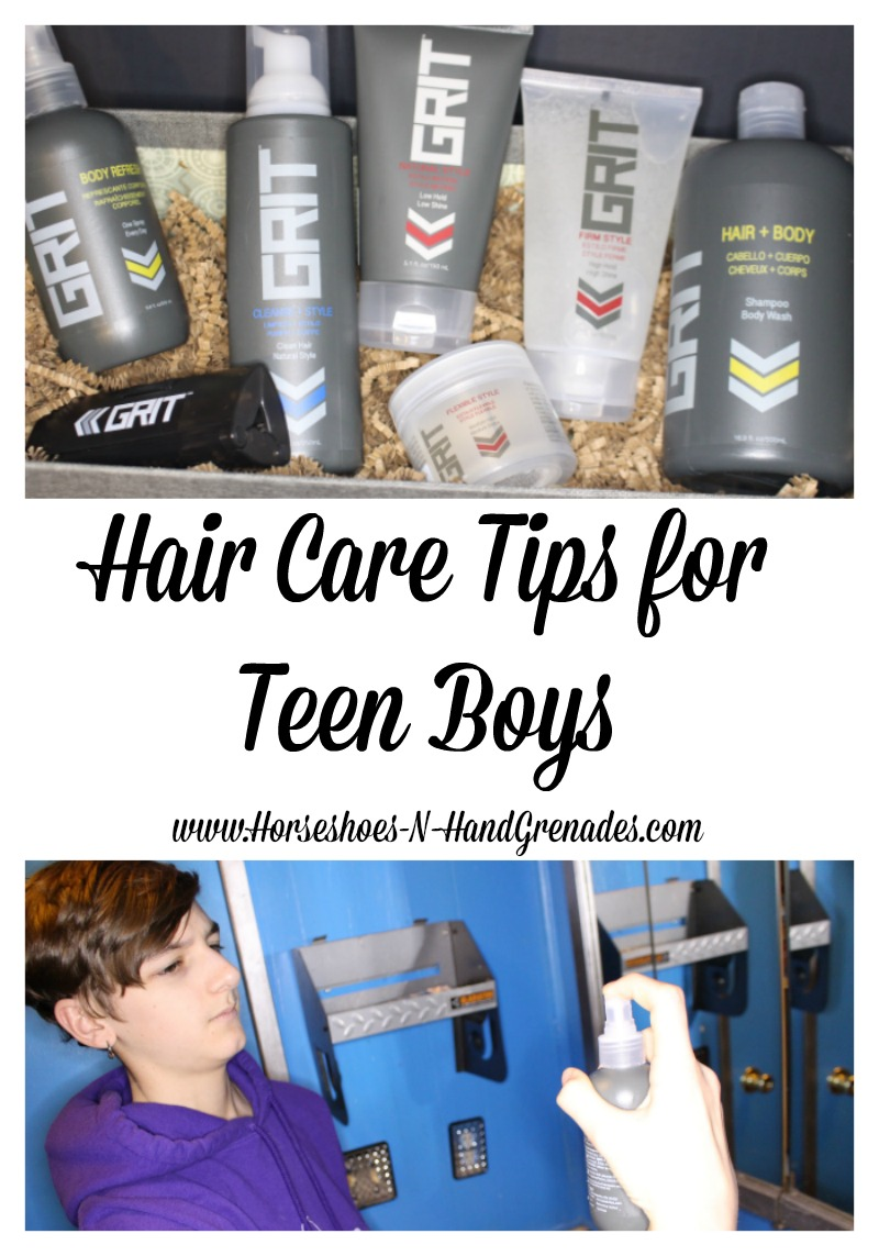 Hair Care Tips for Teen Boys