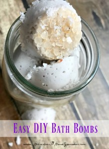 Easy DIY Bath Bombs - Pinterest