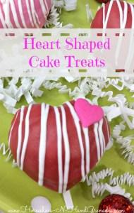 Heart Shaped Cake Treats Pinterest