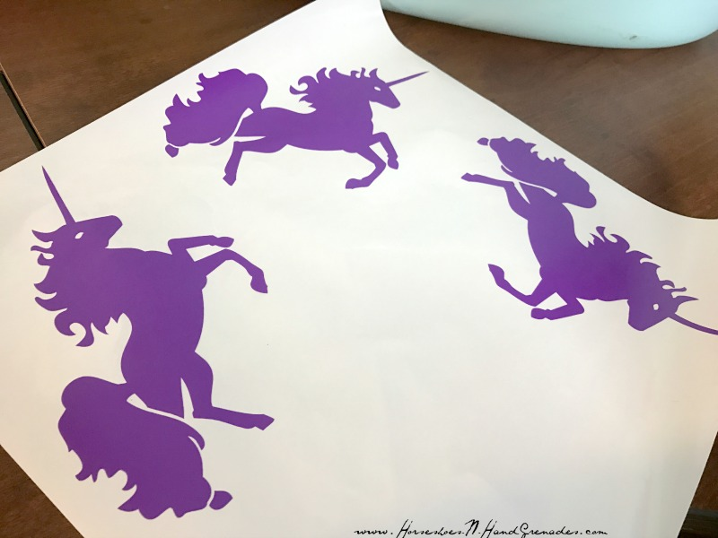 Unicorn Vinyl decals