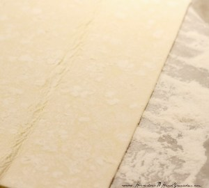 Unroll Puff Pastry Sheet