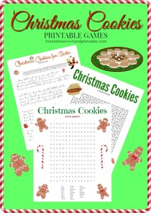 Christmas Cookies for Santa – Christmas Activity Printables