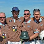 The Equestrian Life Team wins the 1st Annual International Gay Polo Tournament with team members Chip McKenney, Juan Bollini (professional) Gordon Ross, and Tom Landry. Website. Photo © 2010 Lindsay McCall/PMG.