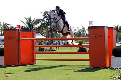 Andrew Bourns and Gatsby Win $50,000 Hermès Jumper Derby in an Irish Sweep