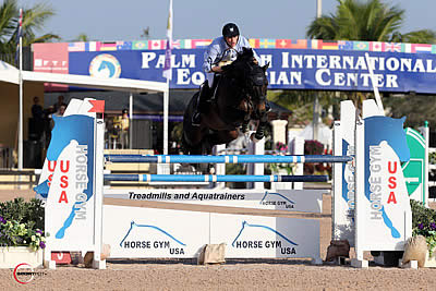 FTI WEF CSIO Week 8 Begins with a Win for Daniel Deusser and Domingo