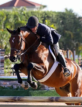 Christopher Payne and Lucas Win Championship in 3 & 4-Year-Old Hunter Debut