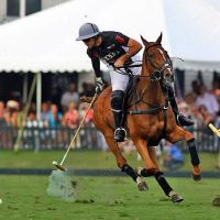Audi's Nico Pieres goes after the ball before a run downfield