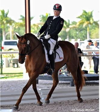US and Canada Vie for Para-Equestrian Team Championship at AGDF WEF Dressage Classic CPEDI3*