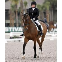 Ellie Brimmer and Carino H competed in the FEI Para Grade III classes at AGDF. © SusanJStickle.com
