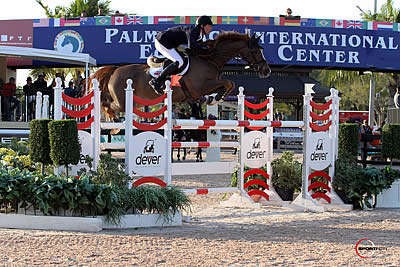 Daniel Deusser and Mouse Top $33,000 Spy Coast Farm 1.45m at FTI WEF 9