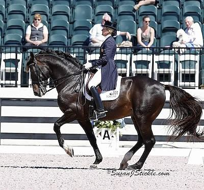 Tina Konyot and Calecto V Take FEI Grand Prix Victory at WEF Dressage Classic CDI 3*