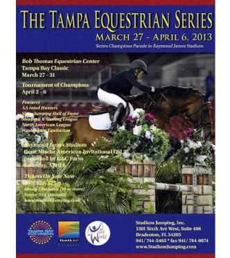 Stadium Jumping Announces Updated Exhibitor Information for Tampa Equestrian Series