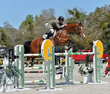 Aaron Vale Takes Home First and Fourth-Place Ribbons in $25,000 SmartPak Grand Prix at HITS Ocala